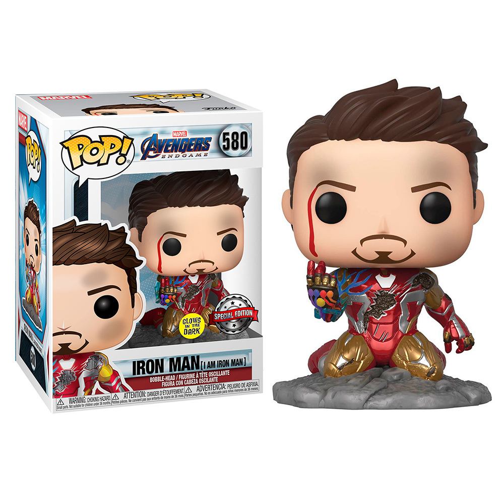 MARVEL (AVENGERS ENDGAME) - POP IRON MAN (I AM IRON MAN) (GLOWS IN THE DARK) [SPECIAL EDITION]